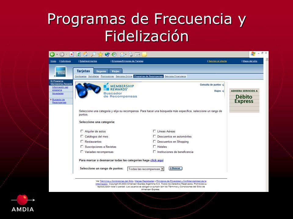 Programas de Frecuencia y Fidelización