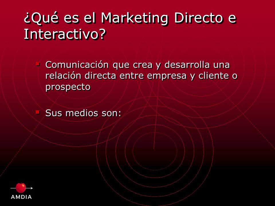 ¿Qué es el Marketing Directo e Interactivo.