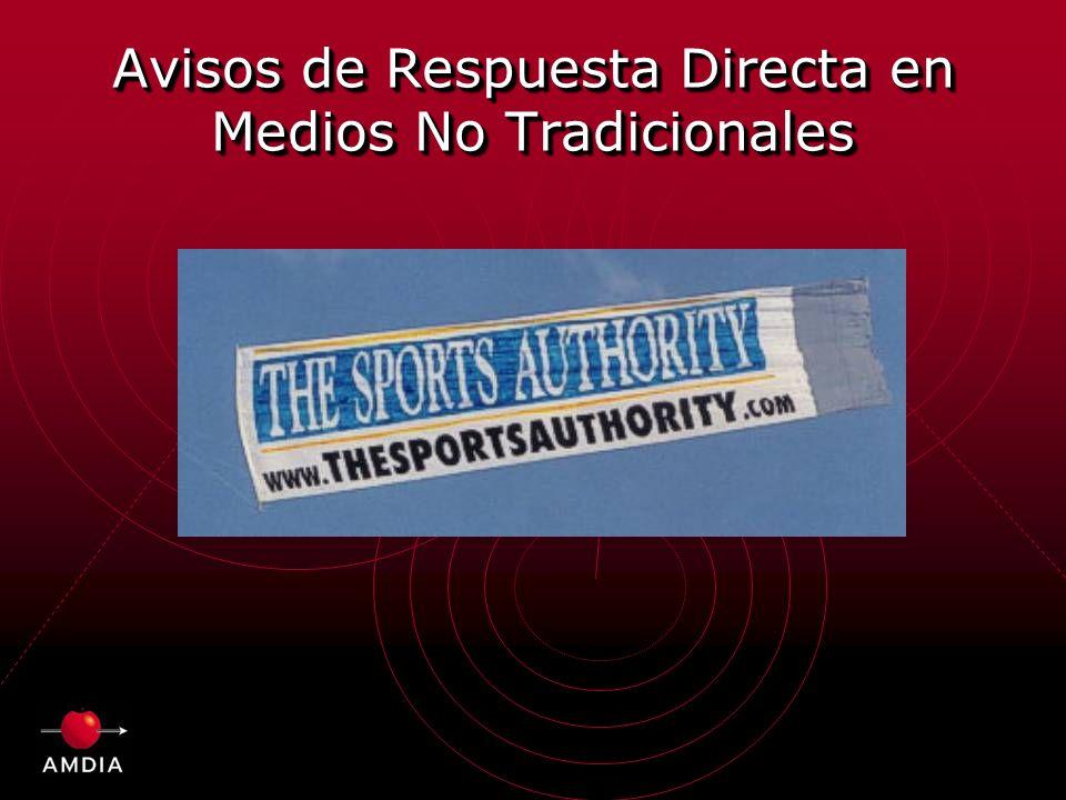 Avisos de Respuesta Directa en Medios No Tradicionales
