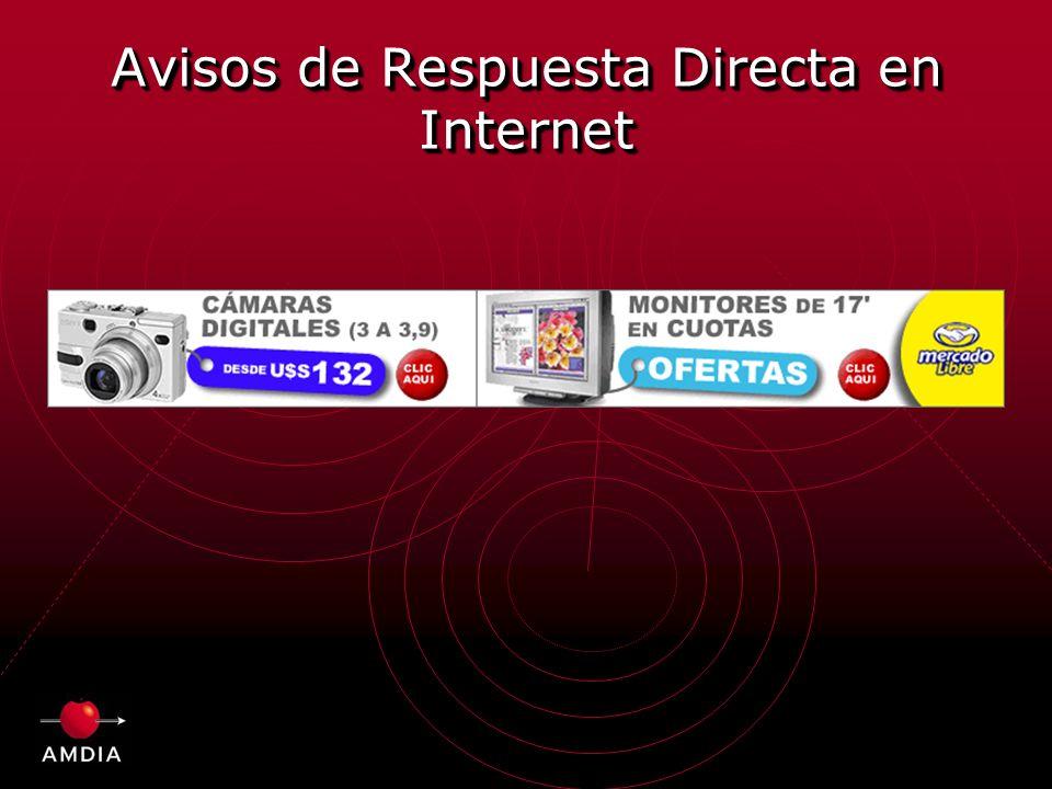 Avisos de Respuesta Directa en Internet
