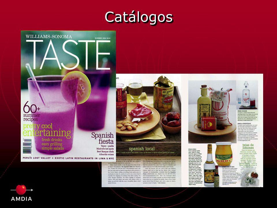 CatálogosCatálogos