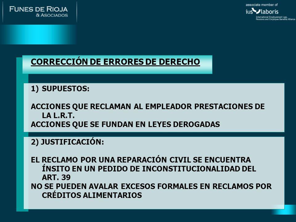 JURISPRUDENCIA DE LA SUPREMA CORTE DE LA PCIA.DE B.S AS.