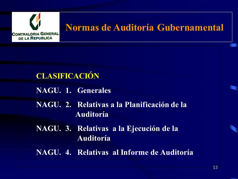 12 TIPOS DE AUDITORÍA GUBERNAMENTAL 1.Auditoría Financiera 2.Auditoría de Gestión 3.Examen Especial 4.Auditoría del Medio Ambiente 5.Auditoría Patrimo