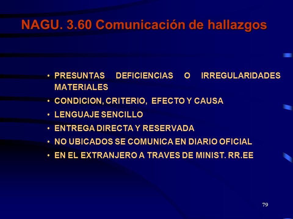 78 CONDICION-CRITERIO CAUSA - EFECTO COMUNICACIÓN- ESCRITO FUNCIONARIOEX-FUNCIONARIO PLAZO : 2-5 AMPLIACION: 8 DIARIO OFICIAL MIN. R.R. E.E. COMUNICAC