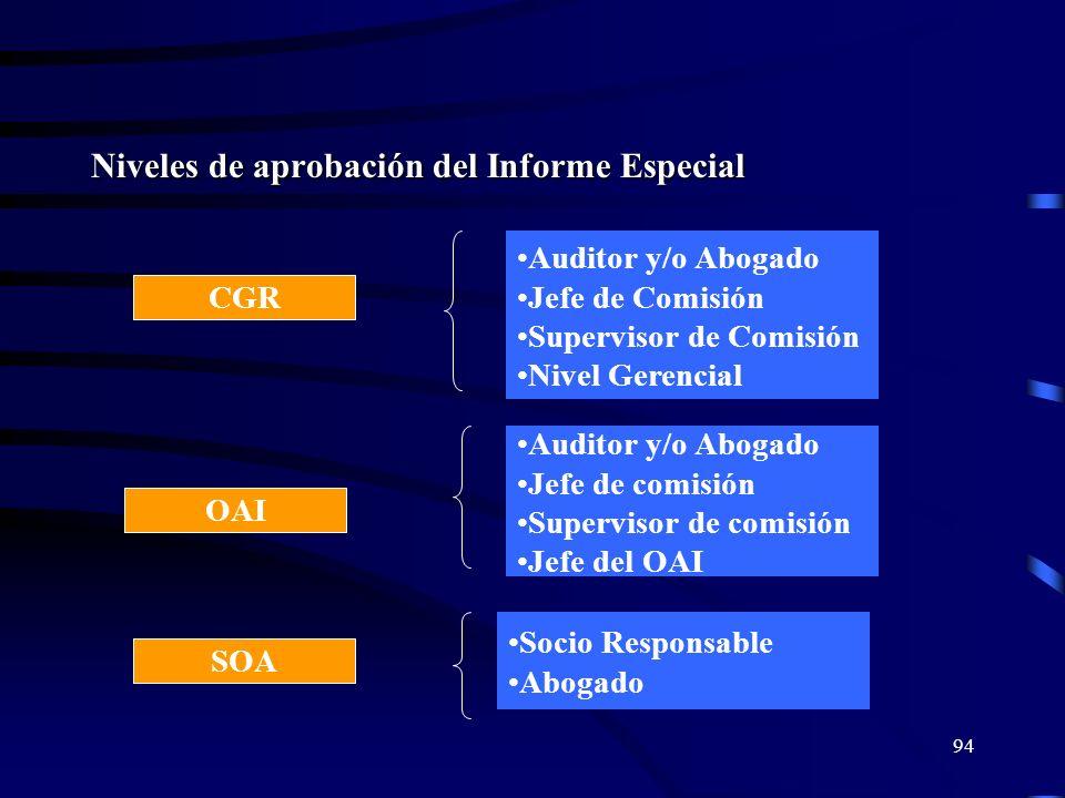 93 Estructura del Informe Especial I. INTRODUCCIÓN II. FUNDAMENTOS DE HECHO III. FUNDAMENTOS DE DERECHO IV. IDENTIFICACIÓN DE PARTÍCIPES EN LOS HECHOS