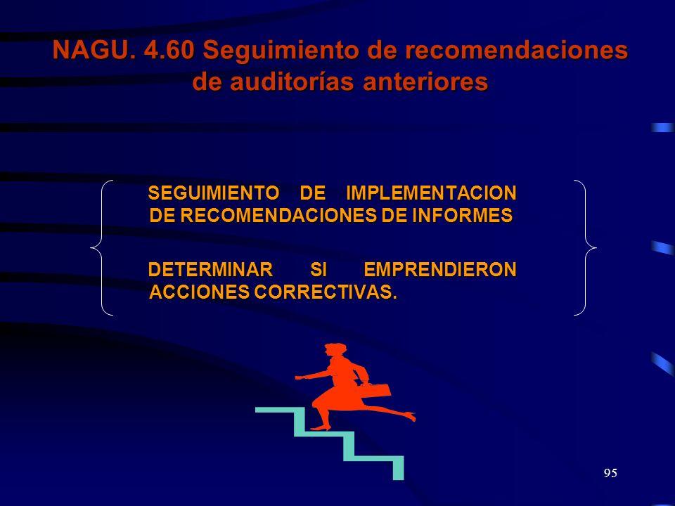 94 Niveles de aprobación del Informe Especial CGR OAI SOA Auditor y/o Abogado Jefe de Comisión Supervisor de Comisión Nivel Gerencial Auditor y/o Abog