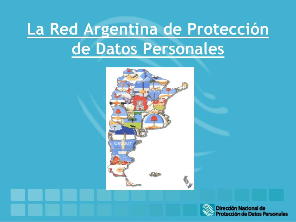 La Red Argentina de Protección de Datos Personales