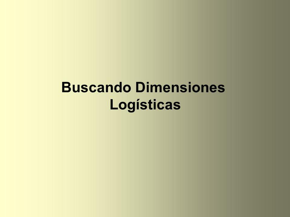 Buscando Dimensiones Logísticas