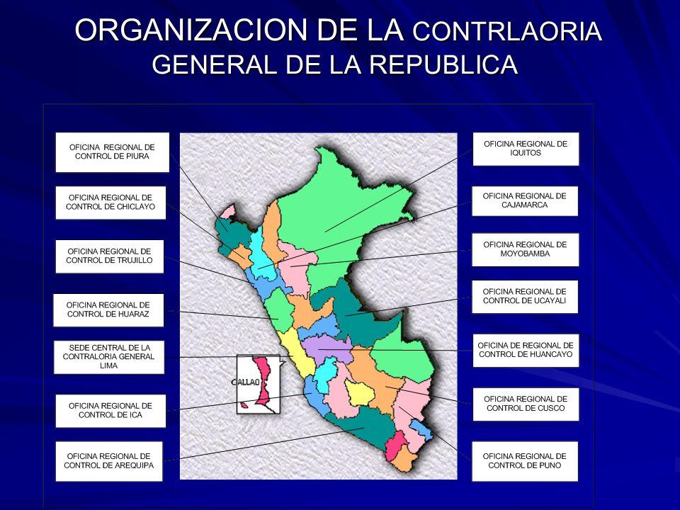 CGR GOB.CENTRAL ORGANISMOS PUB. DESC.