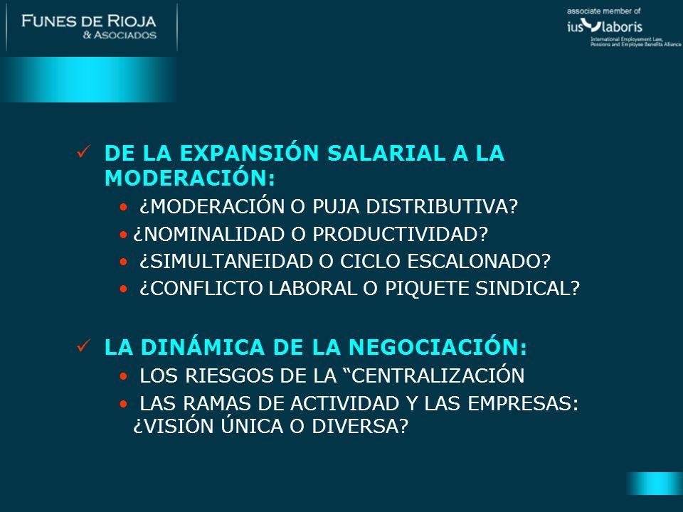 EL COMPONENTE DE POLÍTICA ESTATAL: ¿NEGOCIACIÓN COLECTIVA O DECRETOS.