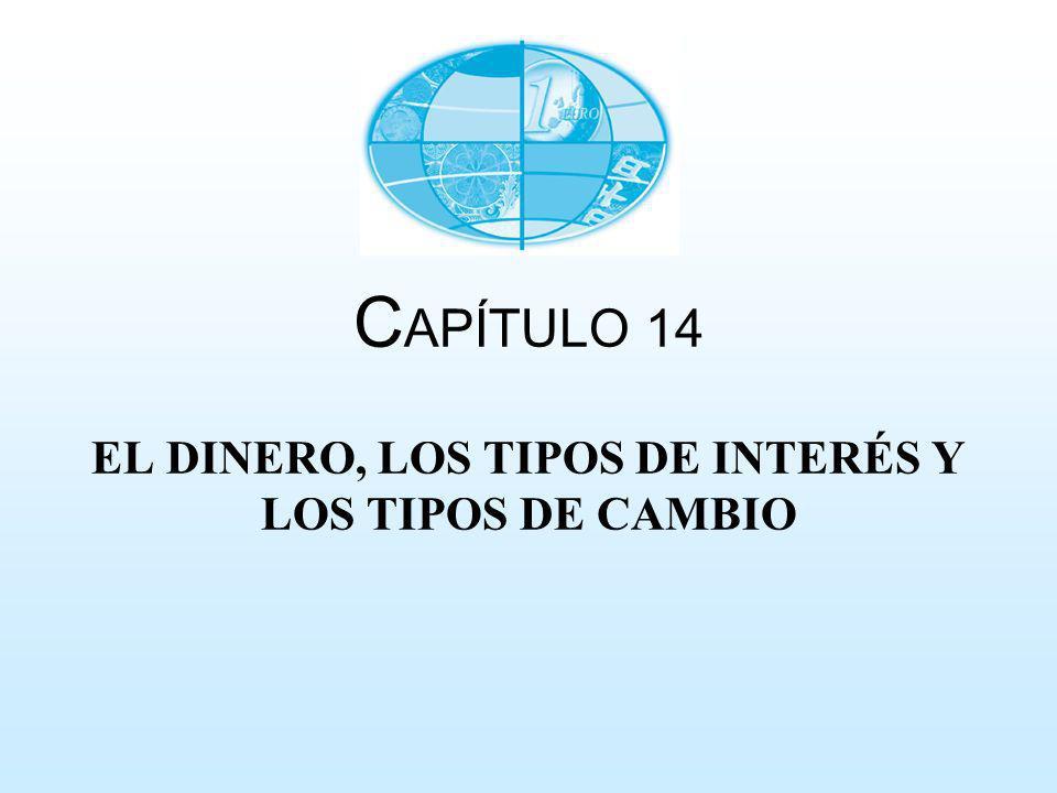 C APÍTULO 14 EL DINERO, LOS TIPOS DE INTERÉS Y LOS TIPOS DE CAMBIO