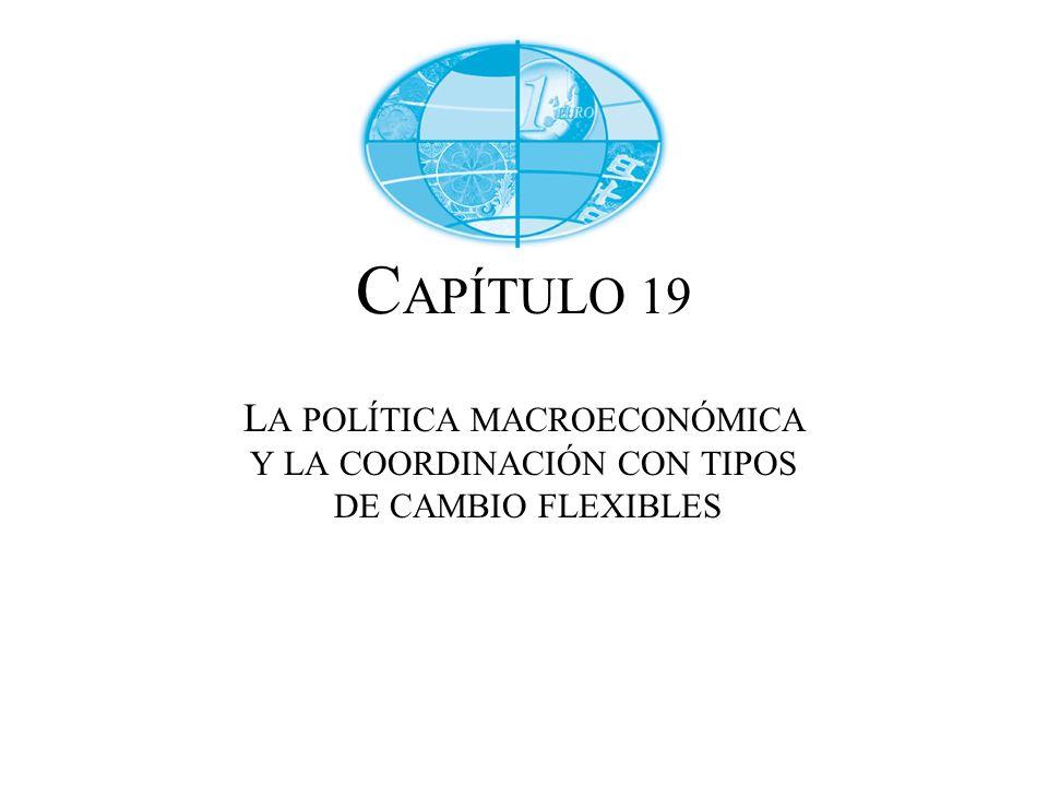 C APÍTULO 19 L A POLÍTICA MACROECONÓMICA Y LA COORDINACIÓN CON TIPOS DE CAMBIO FLEXIBLES
