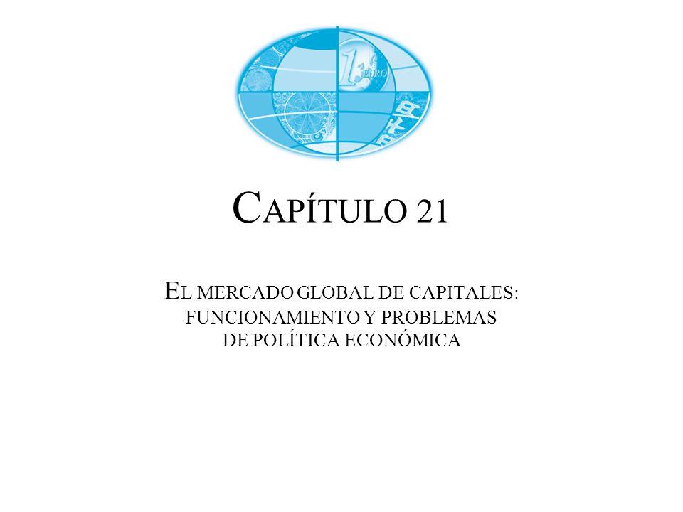 C APÍTULO 21 E L MERCADO GLOBAL DE CAPITALES: FUNCIONAMIENTO Y PROBLEMAS DE POLÍTICA ECONÓMICA