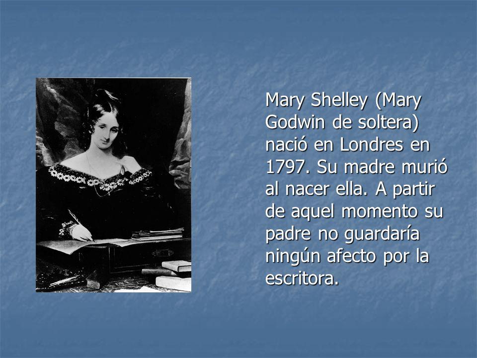 En 1812 conoció a Percy Shelley.