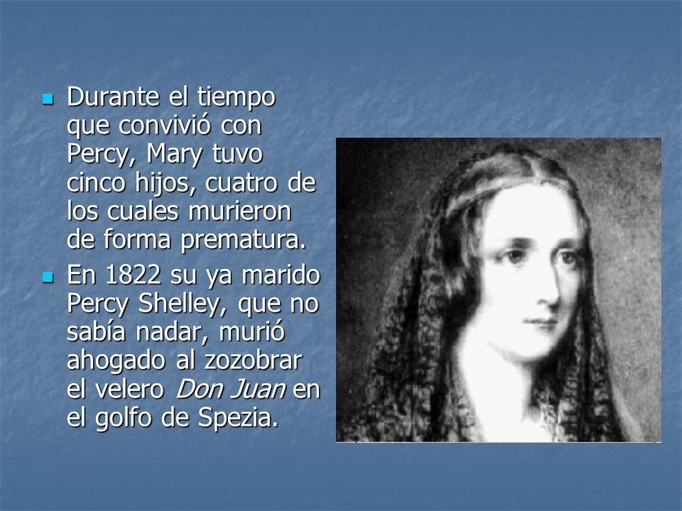 Mary Shelley guardó durante toda su vida el corazón de su marido, aprisionado entre las páginas de uno de sus libros de poemas.