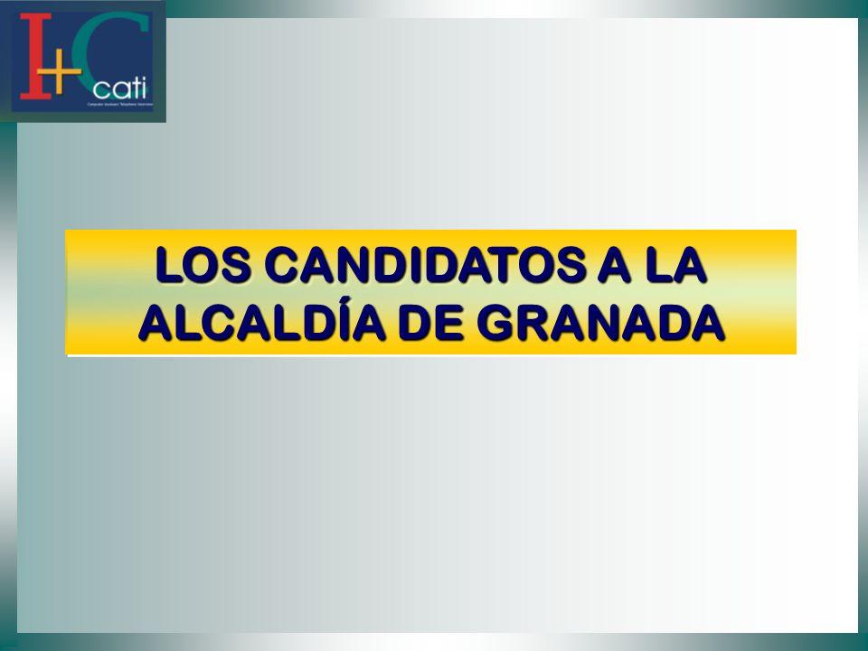 LOS CANDIDATOS A LA ALCALDÍA DE GRANADA