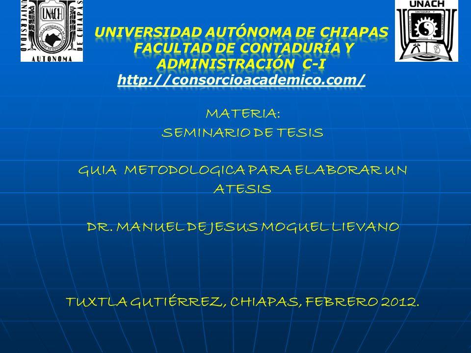 seminario de tesis: