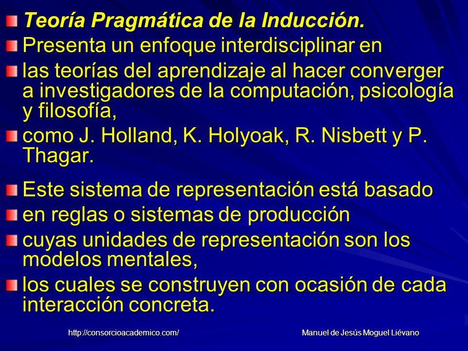 Teoría Pragmática de la Inducción. Presenta un enfoque interdisciplinar en las teorías del aprendizaje al hacer converger a investigadores de la compu