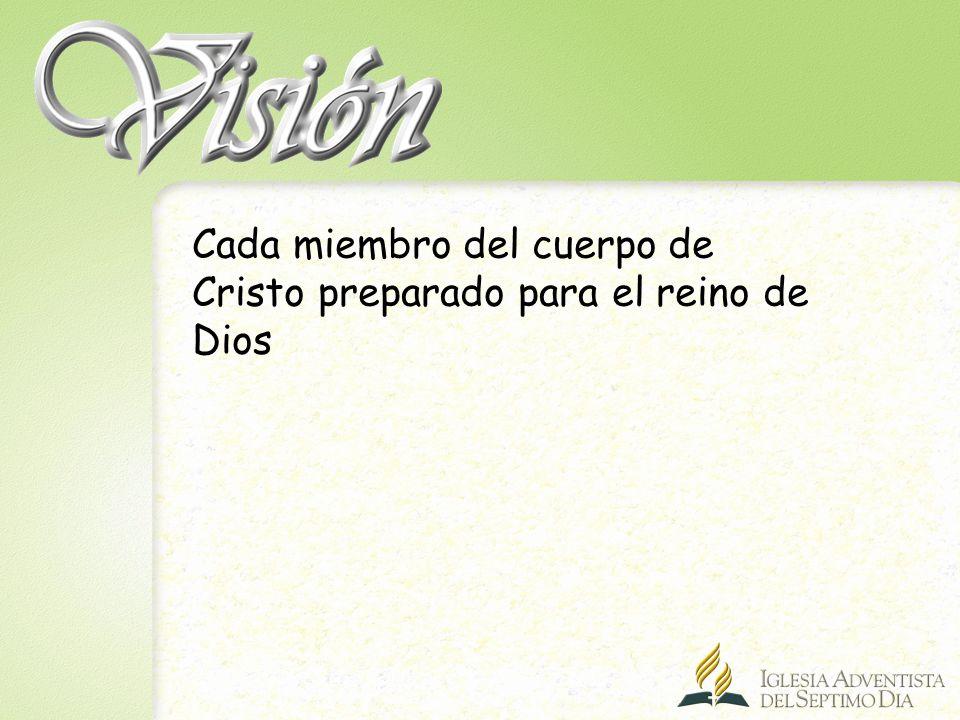La iglesia es misión (R) A.La iglesia como cuerpo de Cristo, tiene el mismo objetivo que Cristo.