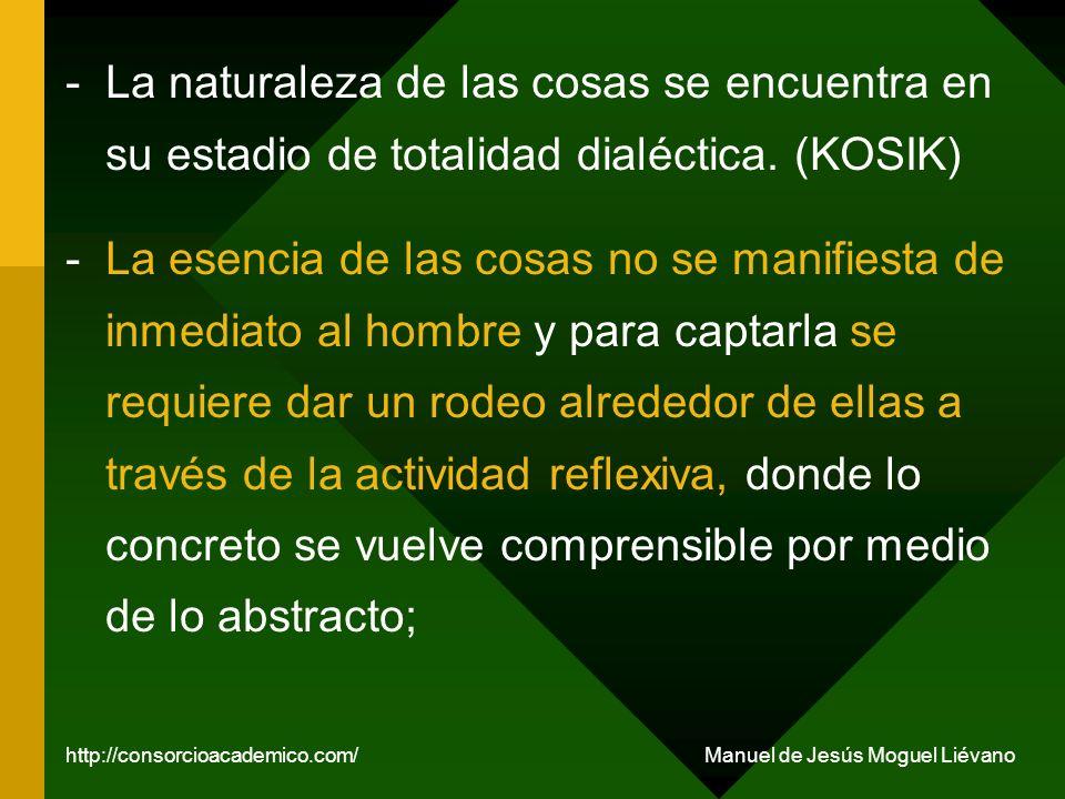 La sociedad es un producto humano; la sociedad es una realidad objetiva y el hombre es un producto social.