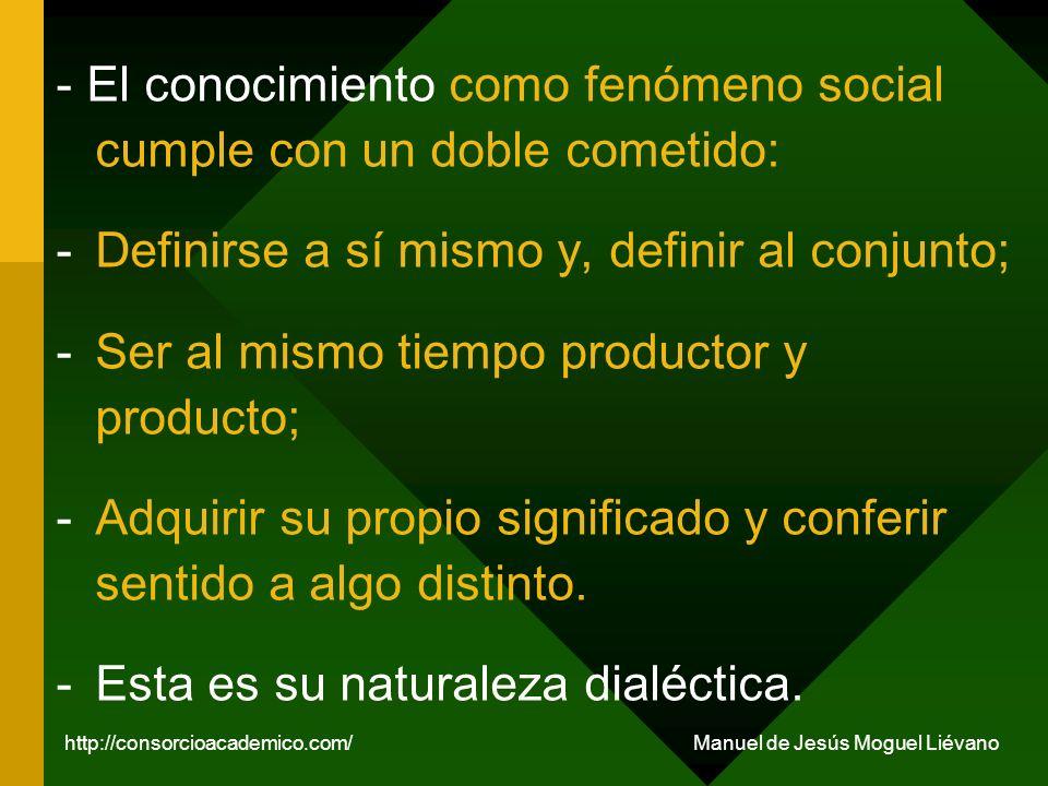Es posible analizar el conocimiento desde la perspectiva de la Teoría de la Construcción Social de la Realidad (TCSR) (P.