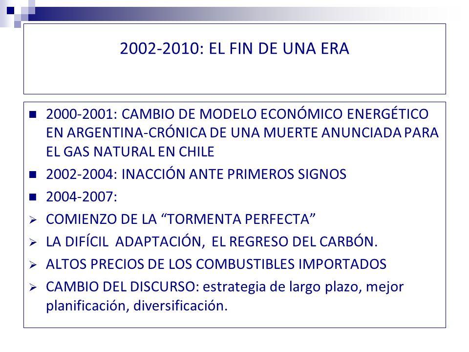 2010-2012: NUEVOS ESCENARIOS, NUEVAS EXIGENCIAS EN EL ÁMBITO SOCIAL-AMBIENTAL LA IRRUPCIÓN DE LAS REDES SOCIALES Y LA MOVILIZACIÓN CONTRA LAS INVERSIONES DEL SECTOR ELÉCTRICO INSTALACIÓN DE LA LÓGICA ECOLOGISTA EN LAS PERCEPCIONES DE LA CIUDADANÍA MAYORES EXIGENCIAS AMBIENTALES CONFLICTO ENTRE ACTIVIDADES ECONÓMICAS ALTERNATIVAS JUDICIALIZACIÓN DE LOS CONFLICTOS