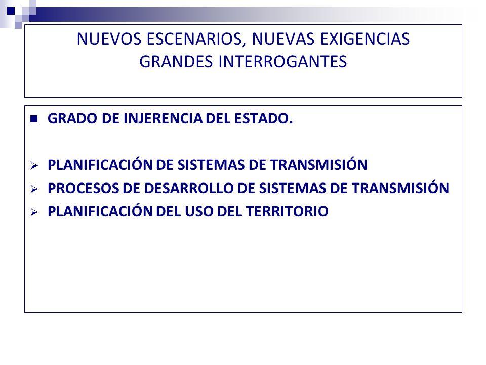 NUEVOS ESCENARIOS, NUEVAS EXIGENCIAS LA NECESIDAD DE UNA ESTRATEGIA CONSENSUADA INICIATIVAS DE ANÁLISIS Y PLANTEAMIENTO DE ESTRATEGIAS CADE ESCENARIOS ENERGÉTICOS CCTP
