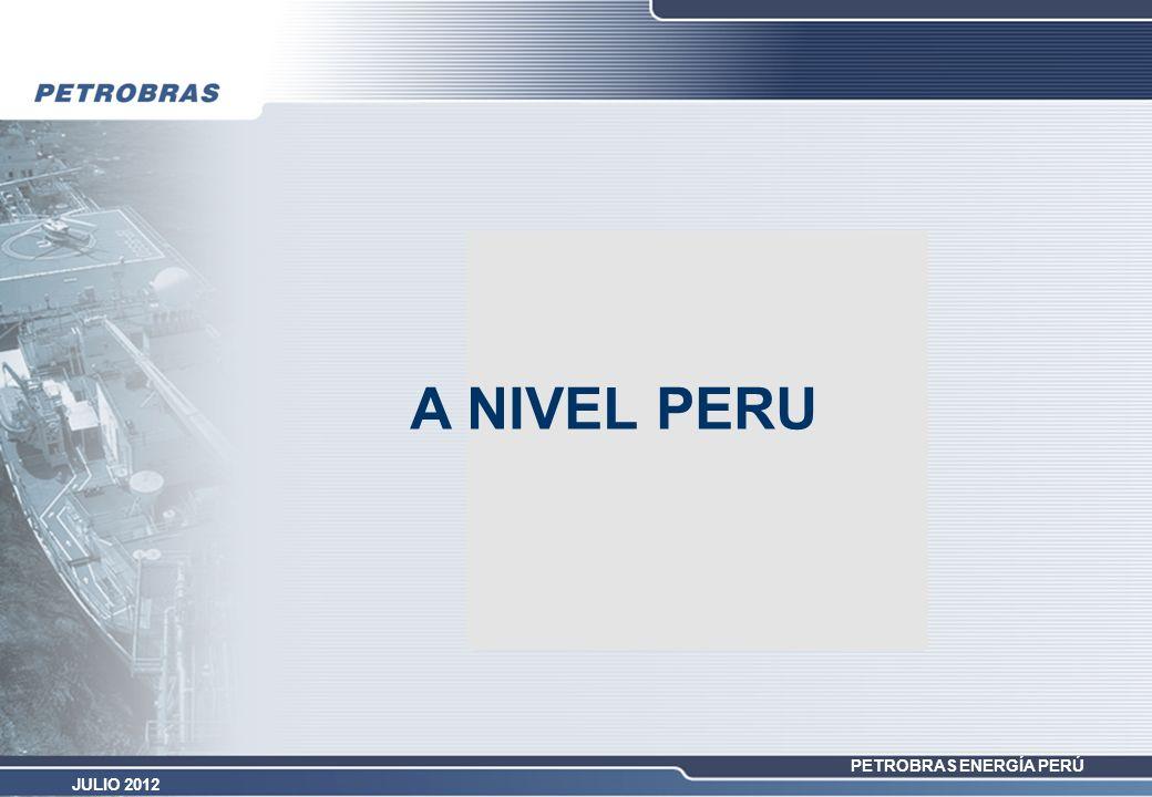 PETROBRAS ENERGÍA PERÚ JULIO 2012 A NIVEL PERU