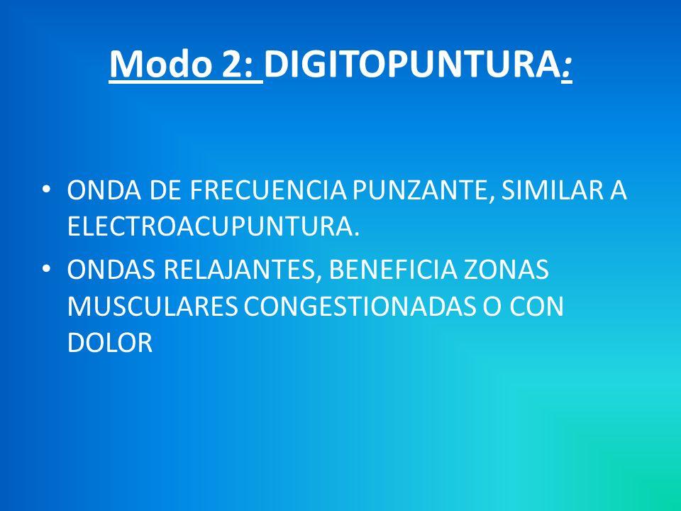 Modo 1 : POR INTERVALOS FUNCIONAMIENTO ALTERNADO DE MAGNETOS E IMANES.