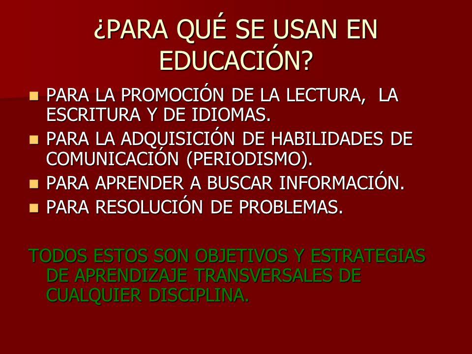 BLOGS DE CATEGORÍA EDUCACIÓN BLOGS QUE NO NECESARIAMENTE SON UN CURSO FORMAL O UNA CLASE UNIVERSITARIA, SINO BLOGS TEMÁTICOS (DISEÑO GRÁFICO, TECNOLOGÍA EDUCATIVA, PROGRAMACIÓN, ETC.).