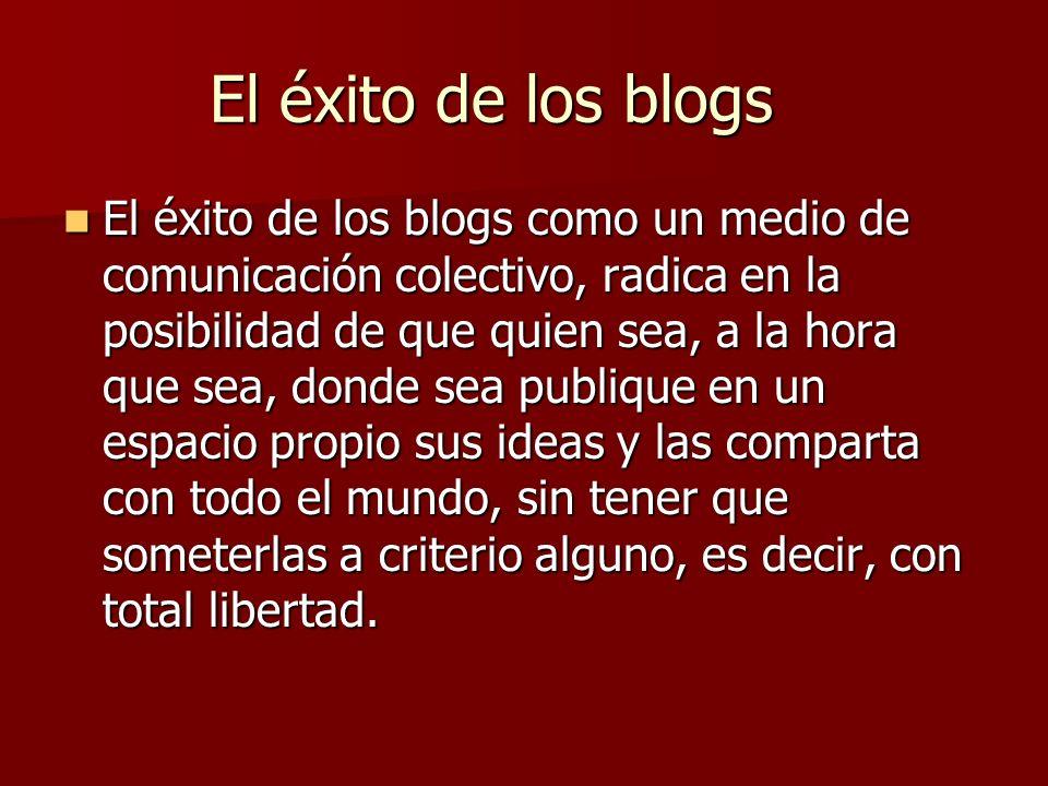 ¿Qué son los blogs. Def.