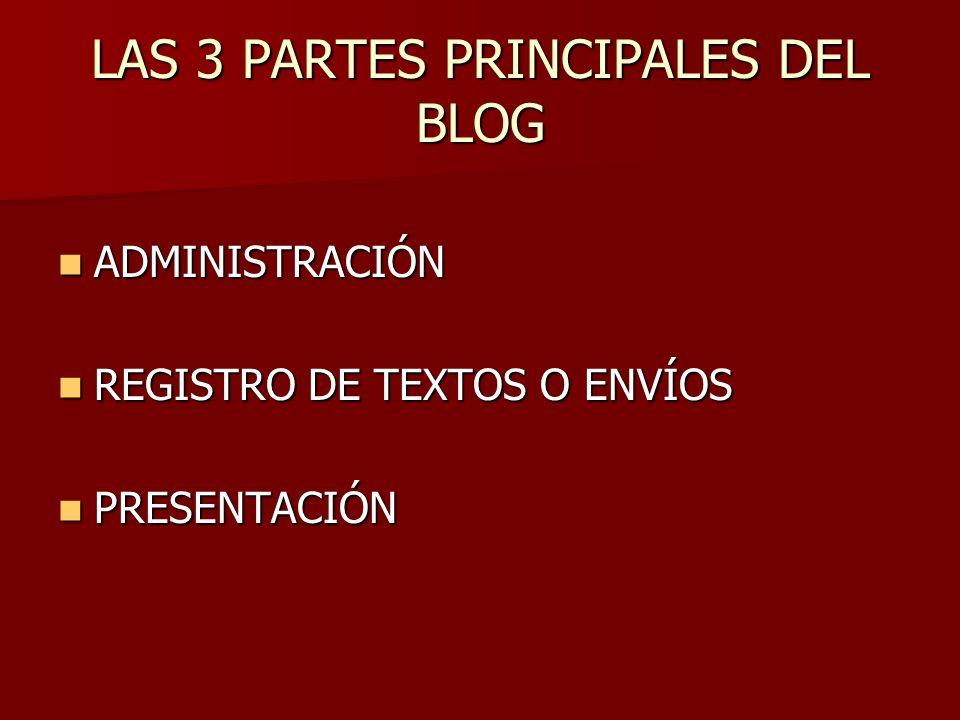 BLOGS POR DENTRO Un blog es una aplicación web, desarrollada con el fin de administrar y presentar la información que los miembros y visitantes del mismo registran continuamente.