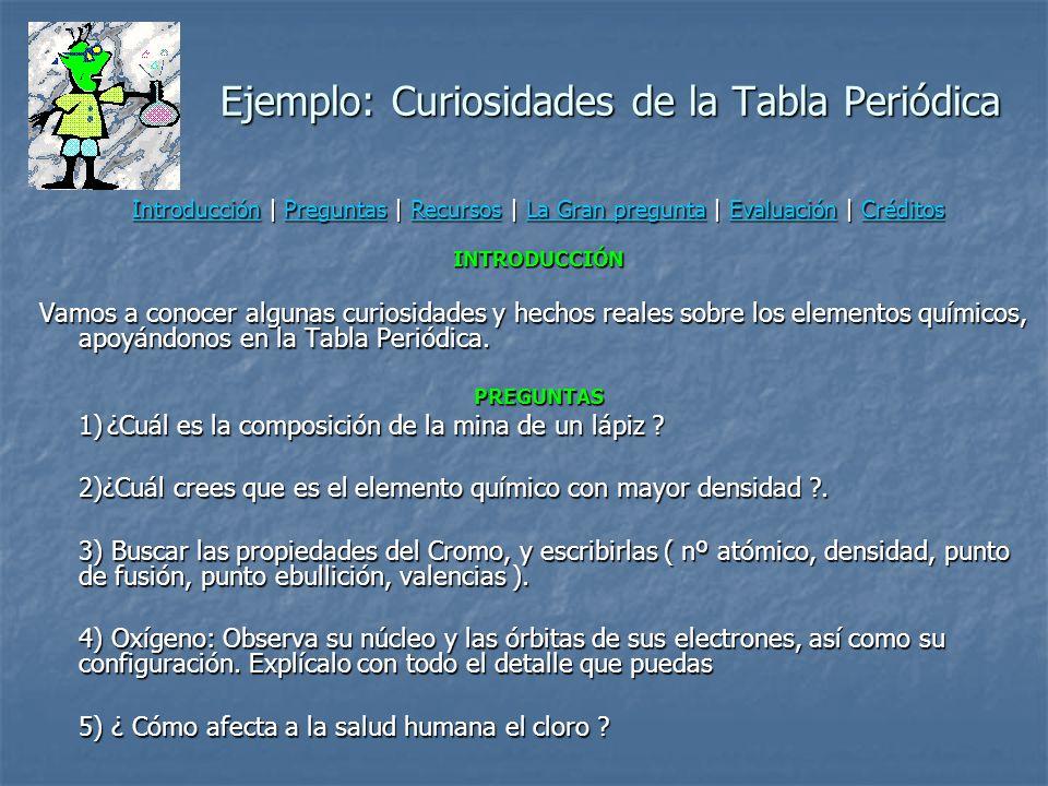 Proceso de creación de una webquest (Dodge, 2002) 1) Seleccionar un tópico o problema adecuado al WebQuest 2) Seleccionar un modelo de diseño 3) Descr