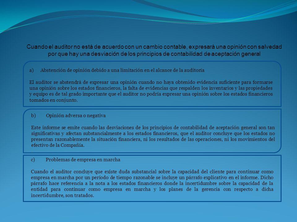 BRONSON & RAY AUDITORES DICTAMEN DE AUDITORES INDEPENDIENTES Señores A LOS DIRECTIVOS Y ACCIONISTAS DE LA COMPAÑÍA PILABONG S.A.