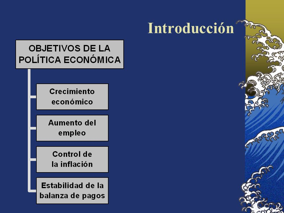 La política monetaria: teoría clásica o cuantitativa del dinero A largo plazo, el aumento de la oferta monetaria sólo genera inflación M.v = p.y, donde v e y son constantes.