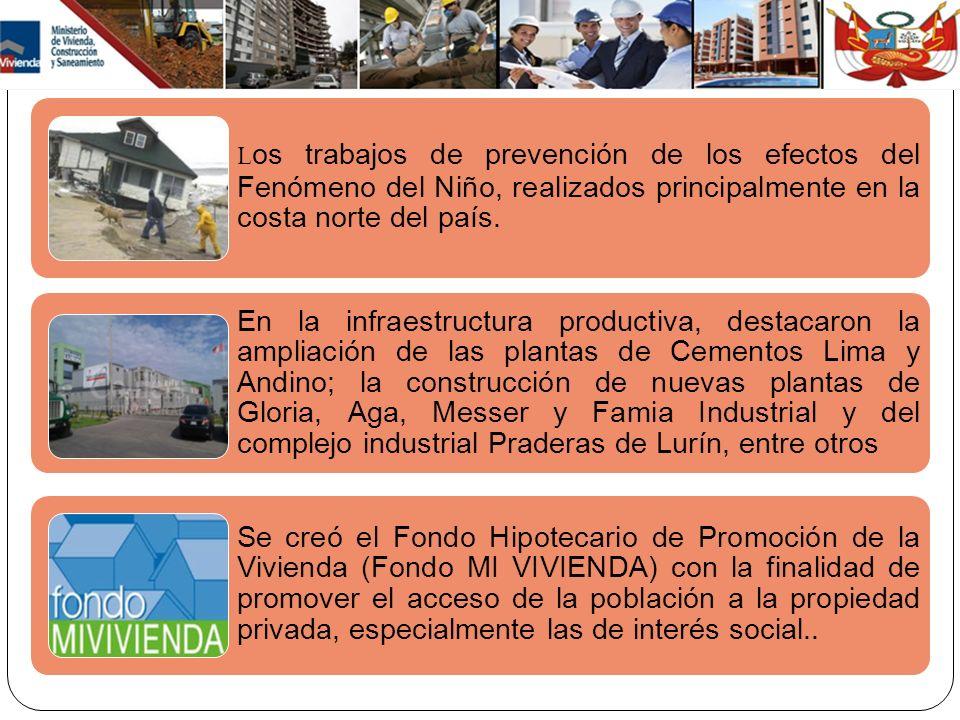 CRECIMIENTO DEL PBI Y SECTOR CONSTRUCCIÓN (1960 -2012) Gráfico Nº 8: PBI y Sector Construcción.