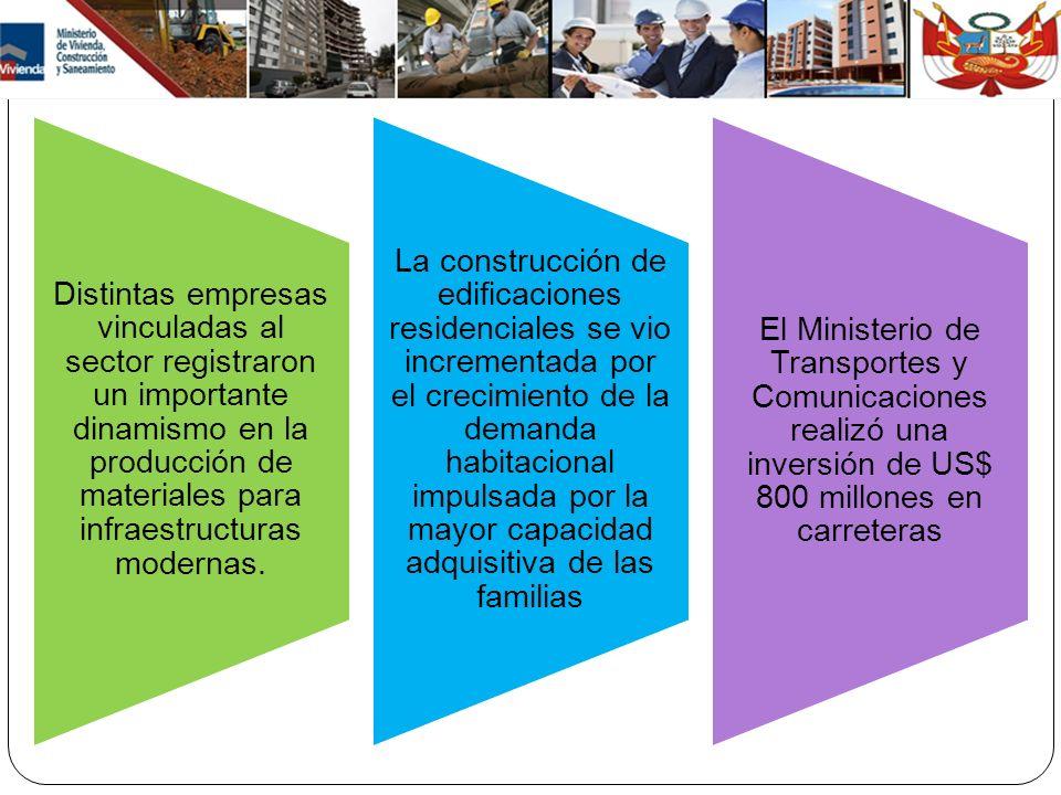 Distintas empresas vinculadas al sector registraron un importante dinamismo en la producción de materiales para infraestructuras modernas. La construc
