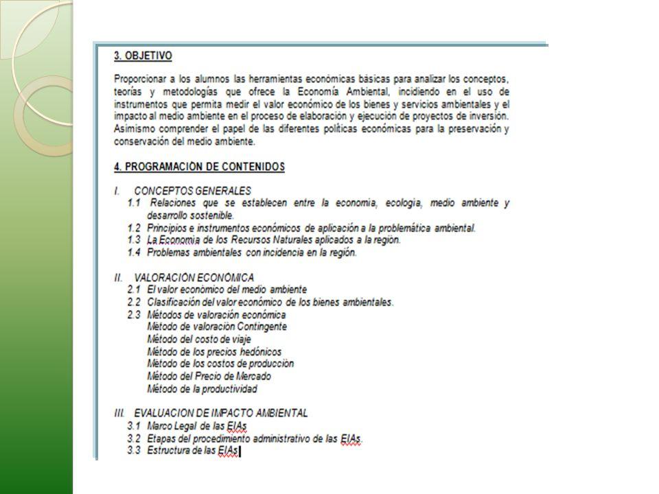 ECONOMIA Y EL AMBIENTE.