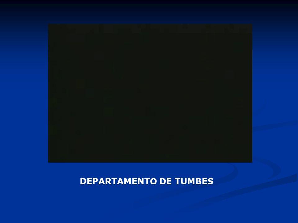 DEPARTAMENTO DE TUMBES
