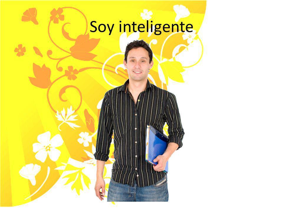 Soy inteligente