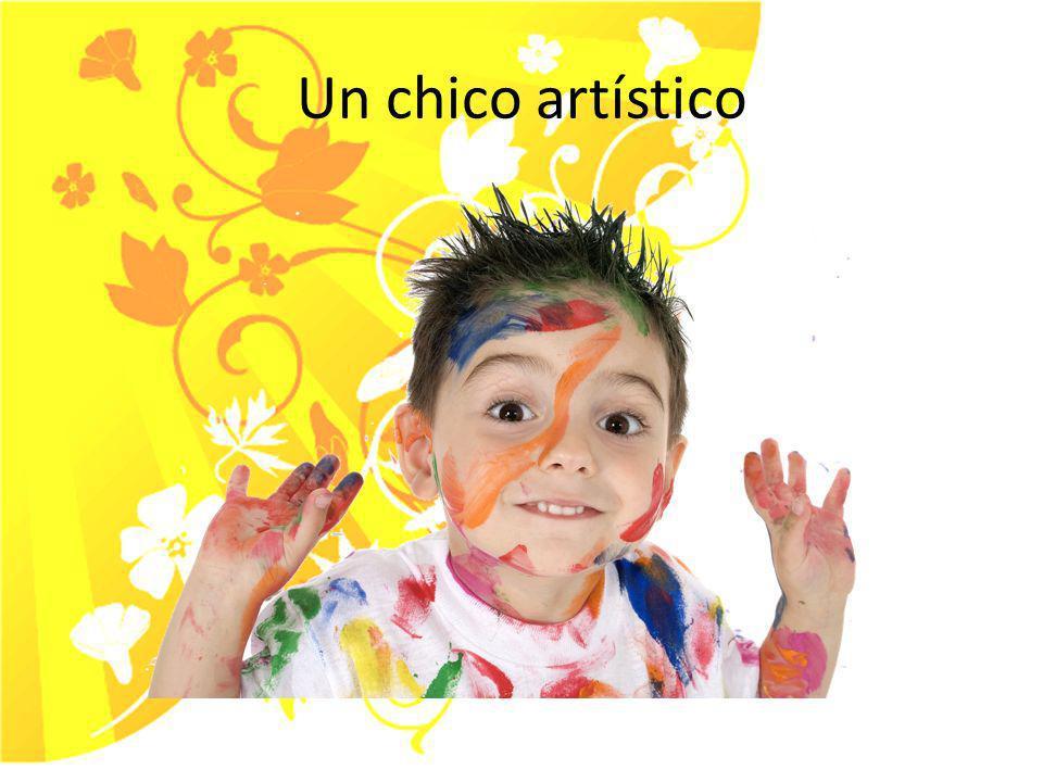 Una chica artística