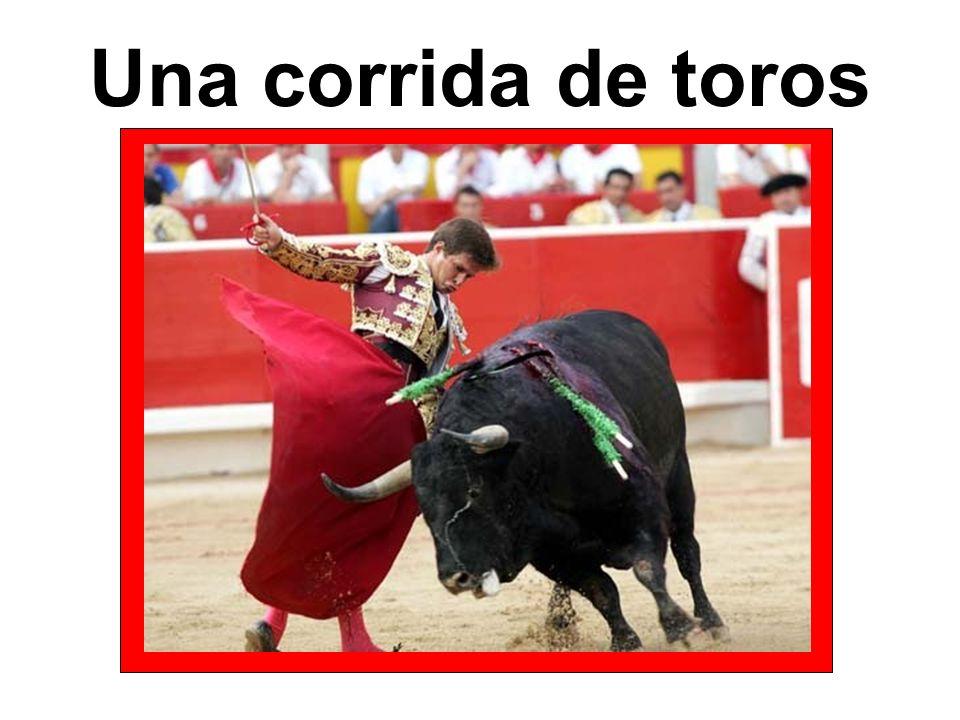 Una corrida de toros