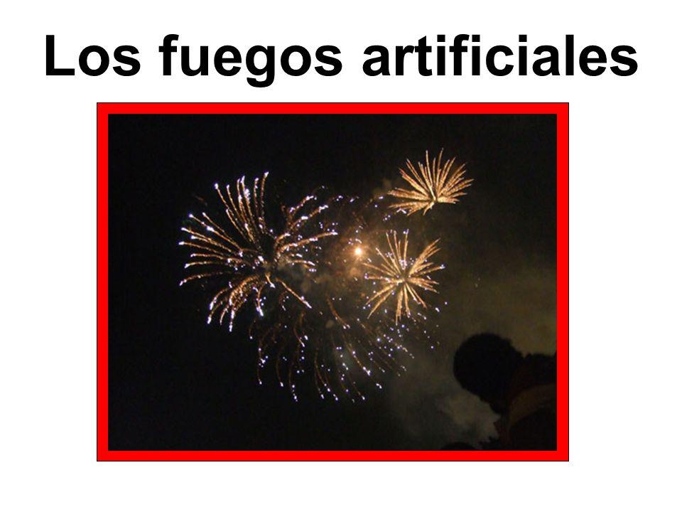 Los fuegos artificiales