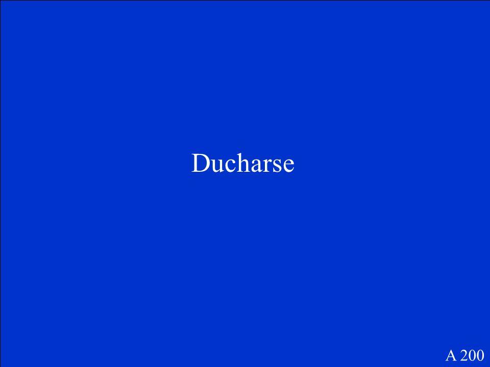 Ducharse A 200