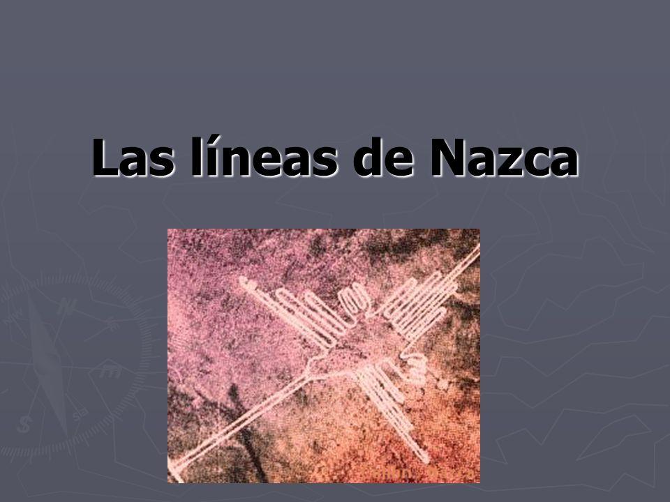 ¿Dondé.Las líneas de Nazca son en la Pampa de Nazca en Perú donde es árida y rocosa.