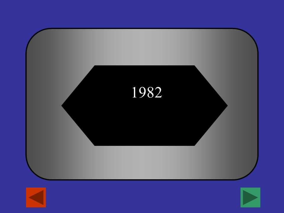 ¿En qué año terminó la Guerra de las Malvinas? A B C D 1980 1981 19821983