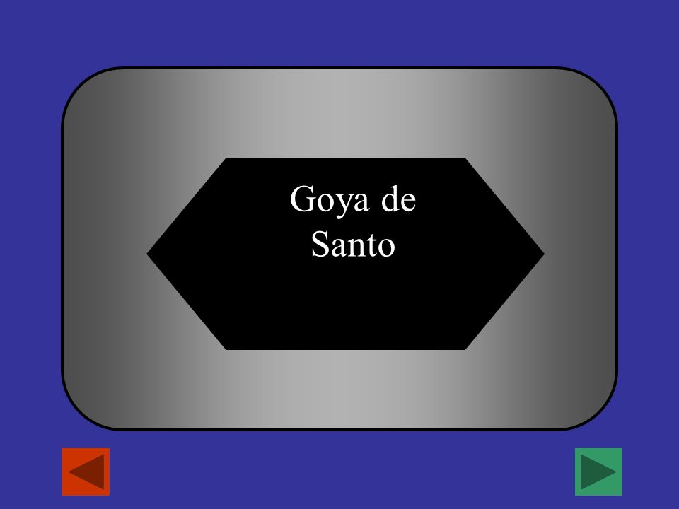 In the name Maria Elena Sanchez Goya de Santo, which of the following is her husbands apellido.