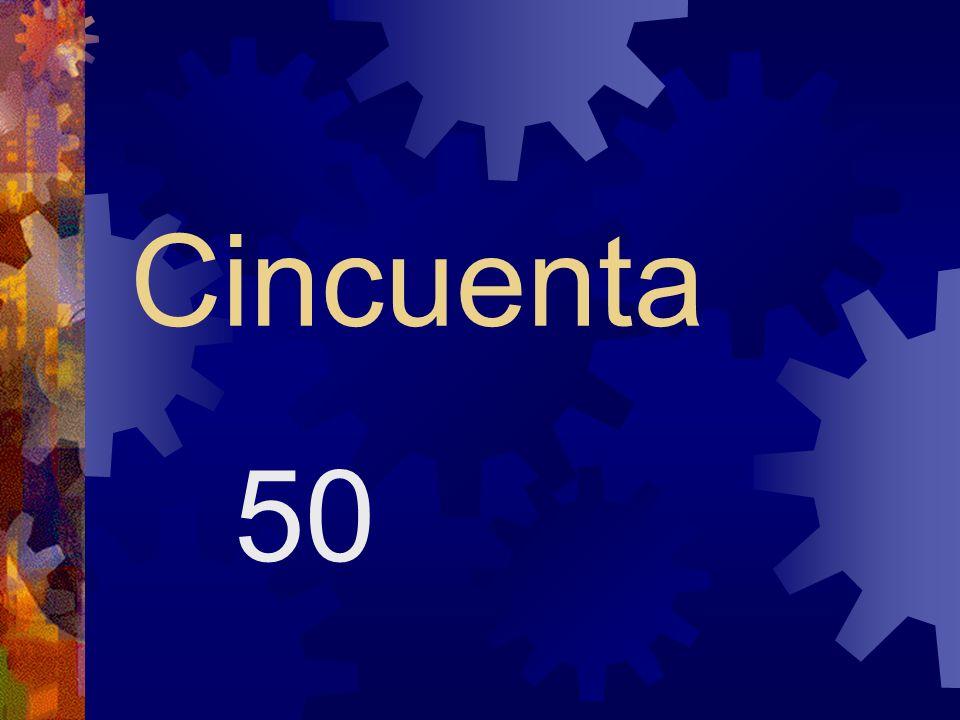 Cuarenta 40