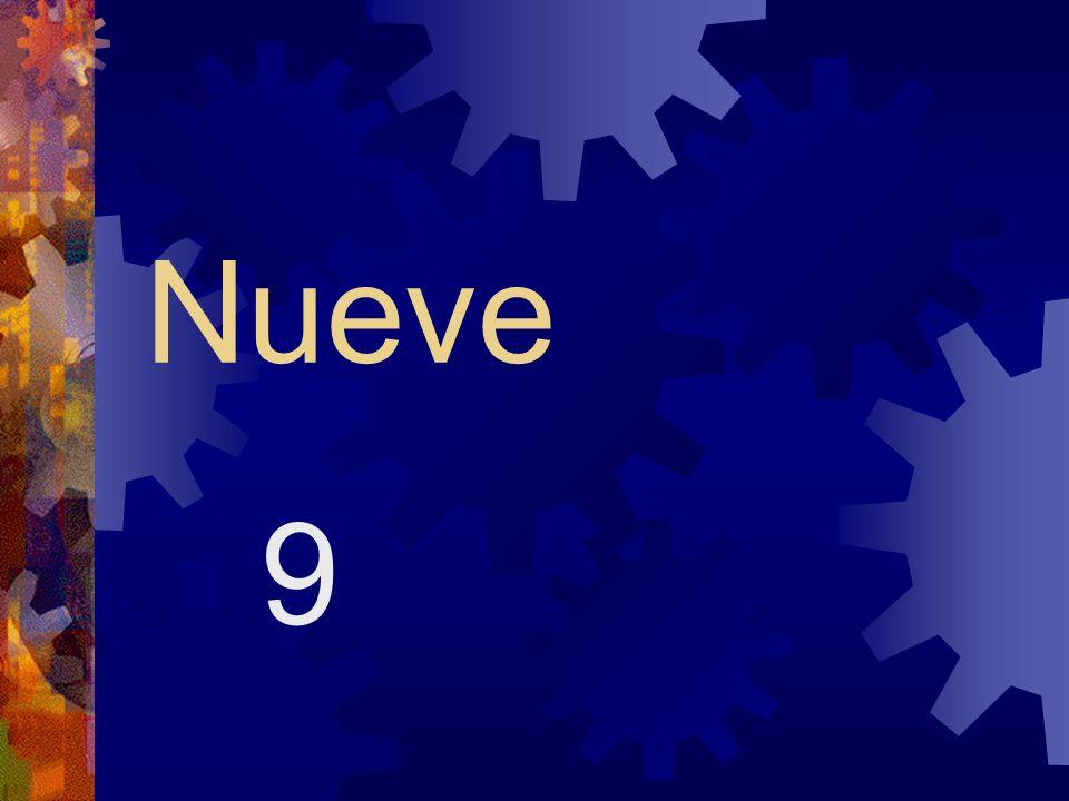 Diez y nueve (diecinueve) 19