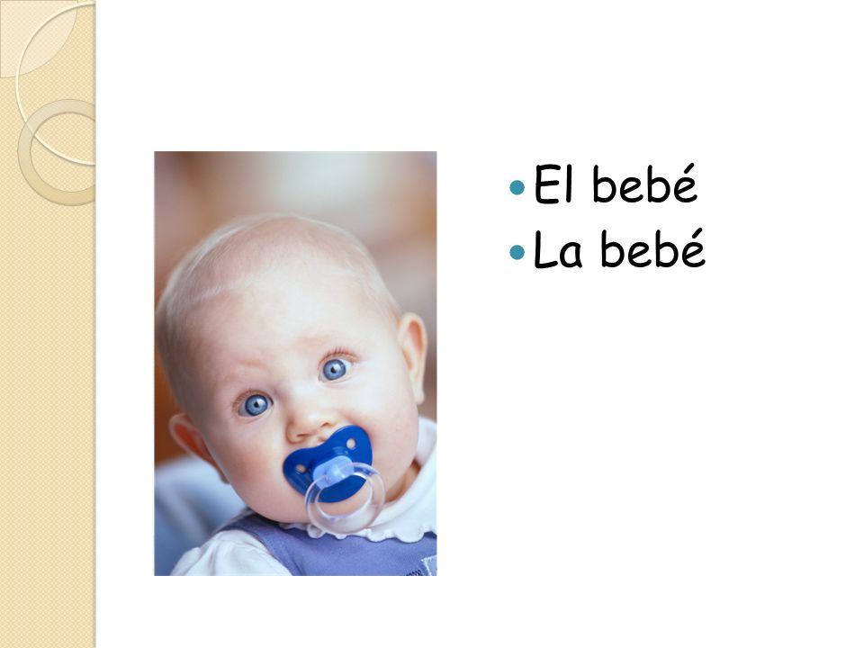 El bebé La bebé